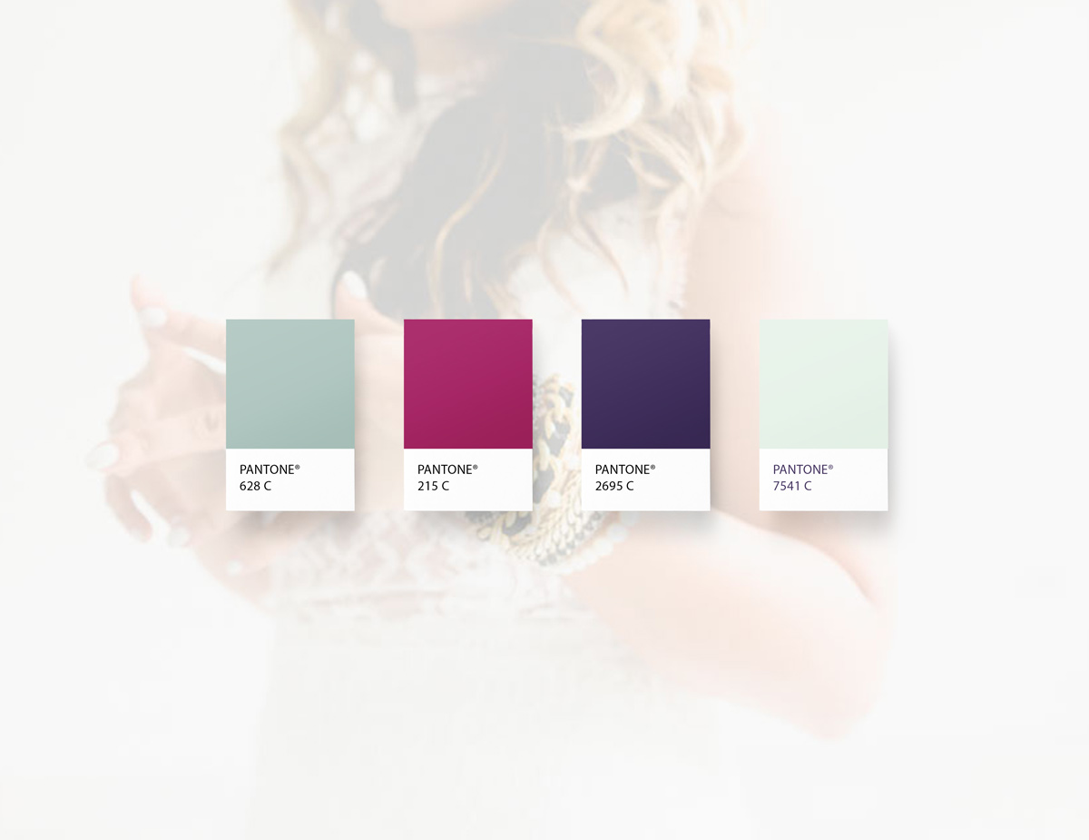 kiss me creative branding and web design by shelley easter color palette