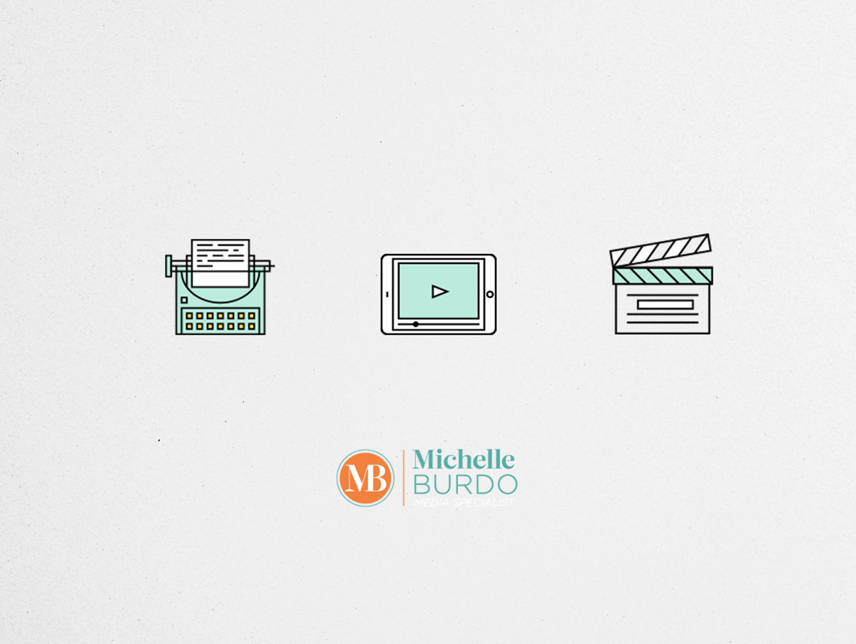 michelle burdo brand and web design by shelley easter - icons