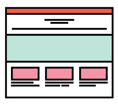 icon for website building