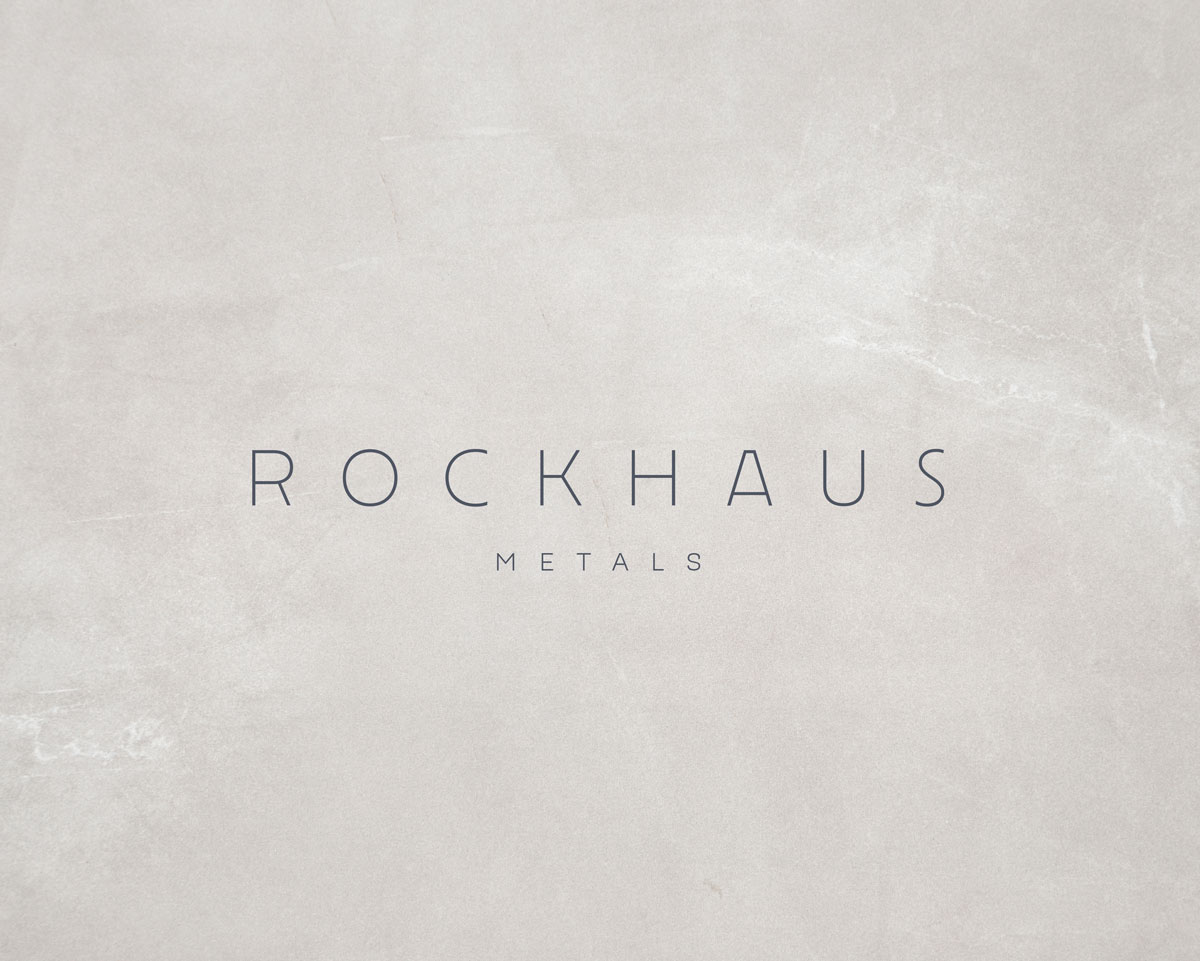 Rockhaus Metals logo by Launchparty.live
