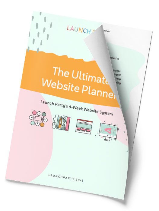 The Ultimate Website Planner from Launch Party, free download