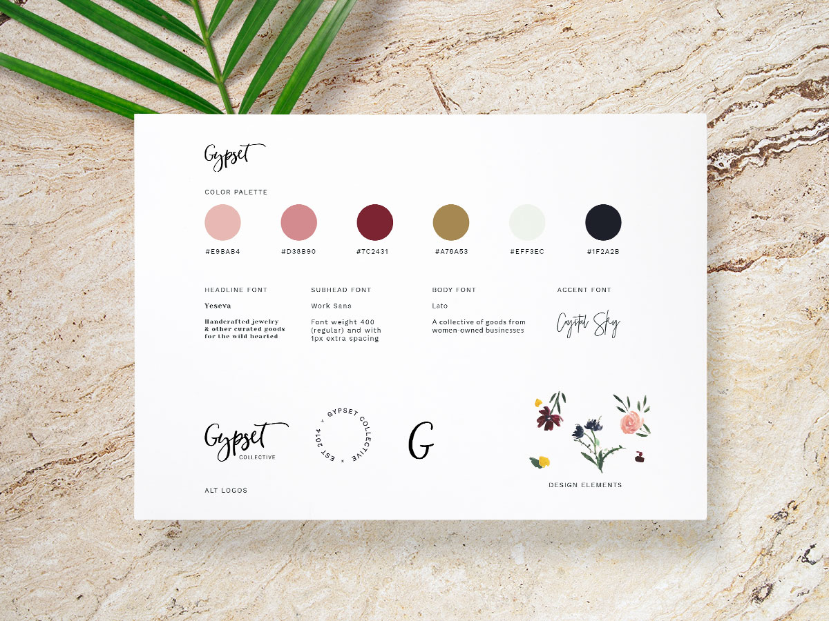 gypset collective brand board